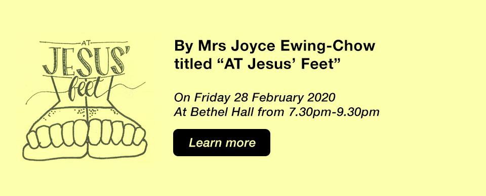 Church in Singapore At Jesus' Feet
